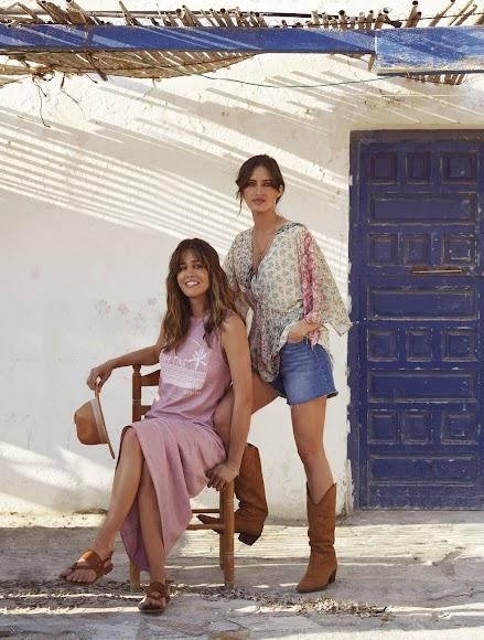 Isabel Jiménez y Sara Carbonero, amigas y socias en Slow Love.