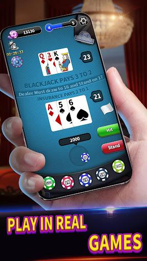BlackJack 21 - Classic Free Table Poker Game 1.0.6 screenshots 1