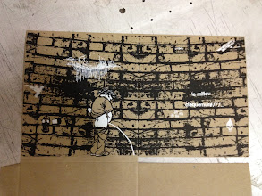 Photo: le mur intérieur