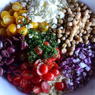 Pioneer Woman's Mediterranean Orzo Salad