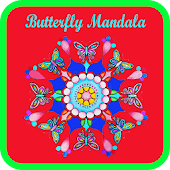 Buterfly Mandala Coloring Book