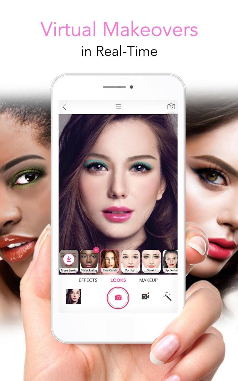 YouCam Makeup - Magic Selfie Makeovers Screenshot