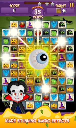 Halloween Smash 2020 - Witch Candy Match 3 Puzzle apkmr screenshots 4