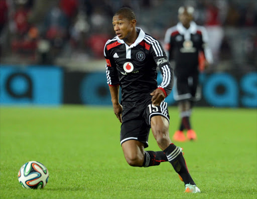 Thabo Qalinge of Orlando Pirates. File photo.