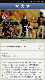 Maryland Civil War Trails- screenshot thumbnail
