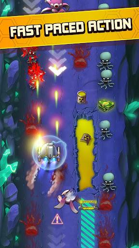 Nhịp độ nhanh trong Monster Shooter Alien Attack mod