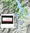 Kyrgyzstan // Sary Chelek Hiking Map and Elevation Profile
