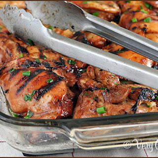Grilled Hawaiian Chicken Thighs