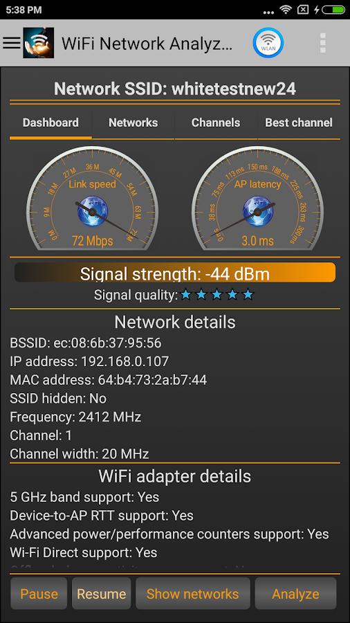 WiFi Analyzer Pro v2.0.5 [Paid] APK - Apk Share It
