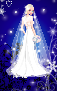 ❄ Icy Wedding ❄ Winter frozen Bride dress up game 4