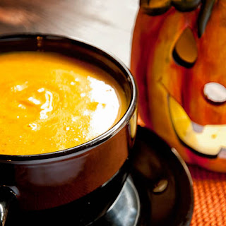 Pumpkin Soup With Apple And Spices Recipe