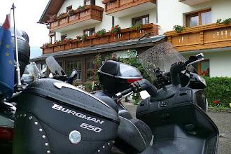 Photo: in Tiffen, Kärnten, leider viel Regen