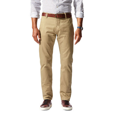 Dockers Alpha Khaki slim stretch new british khaki