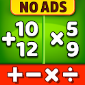 Math Games - Addition, Subtraction, Multiplication icon