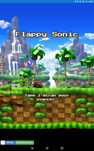 Flappy Sonic - náhled