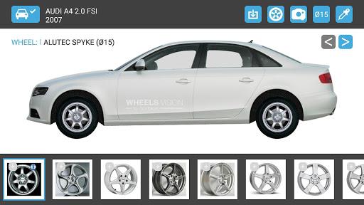 Wheel Visualizer WheelsVision Screenshot