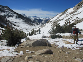 Photo: Descending from Silver Pass