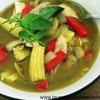 Gluten Free Thai Green Curry.