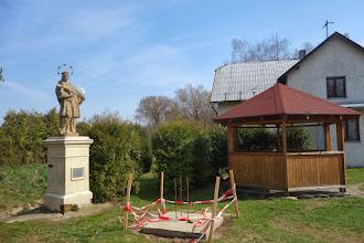 Photo: Slezské Pavlovice pomník Jana Nepomuckého