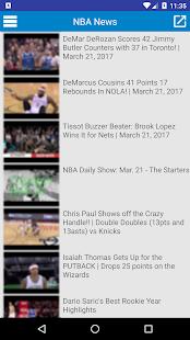 Breaking NBA News - náhled
