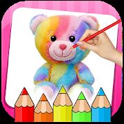 Little Teddy Bear Colouring Book Game