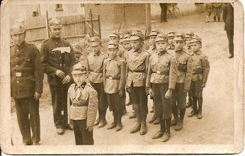 Photo: Zbiórka obok Porwolika - rok 1935.