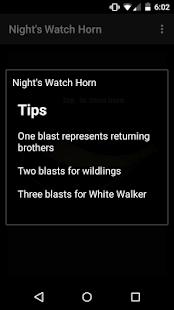 Horn - Game Of Thrones screenshot
