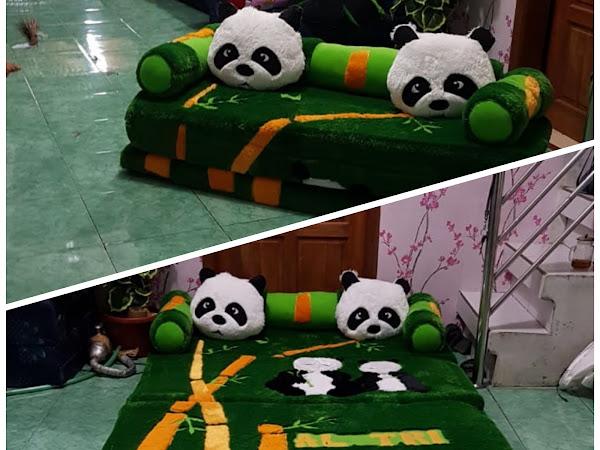 Kasur Lipat Karakter Panda