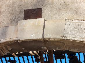 Photo: détail de Porche en pierre de taille