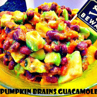 Pumpkin Brains Guacamole