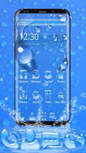 Blue Rain Drop Launcher - náhled