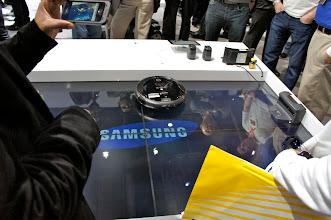 "Photo: Samsung's entry into the ""Roomba"" market."