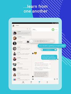 Tandem Language Exchange: Speak & learn languages Screenshot