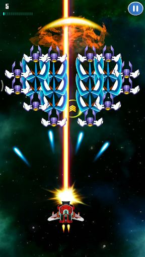 Galaxy Invader: Space Shooting apktreat screenshots 2