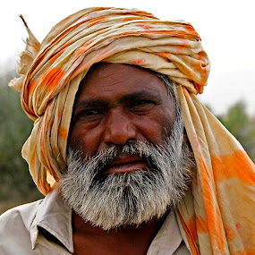 Old Age 2 by Bob Khan - People Portraits of Men (  )
