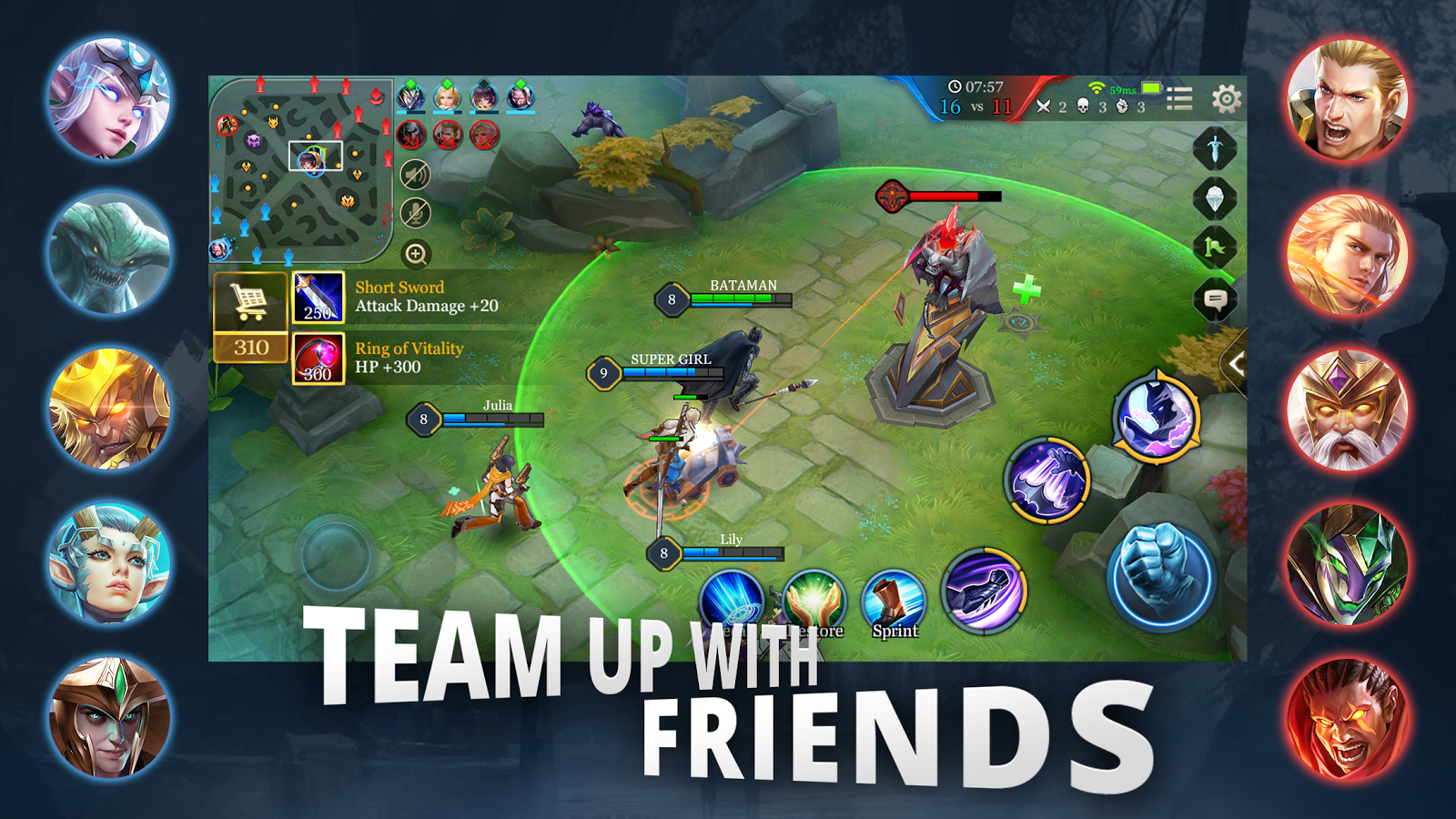 Arena of Valor: 5v5 Arena Game – zrzut ekranu