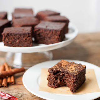 Mexican Almond Pulp Brownies.