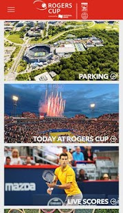 Rogers Cup Official 2016 App- screenshot thumbnail