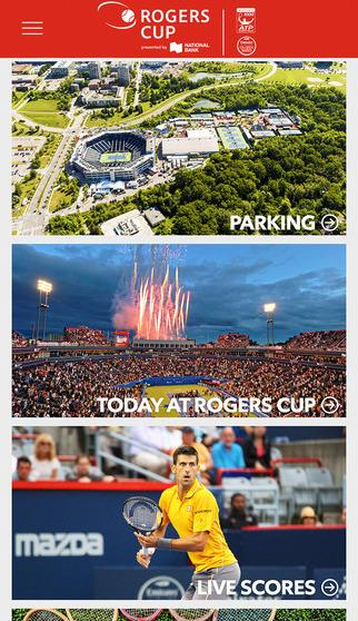 Rogers Cup Official 2016 App- screenshot