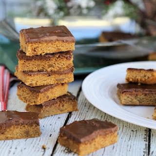 Chocolate Hazelnut Gingersnap Bars