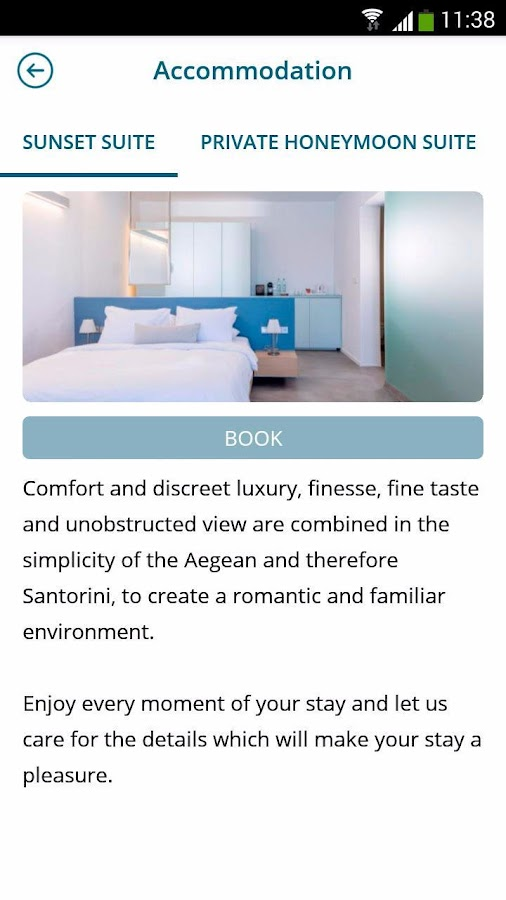 Alti Santorini Suites- screenshot