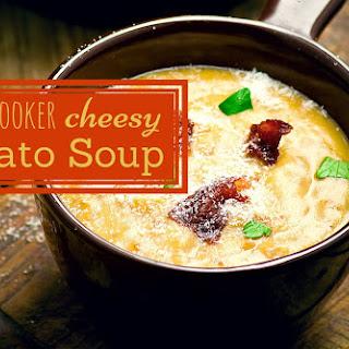 Slow Cooker Cheesy Potato Soup.