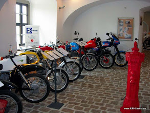 Photo: Zschopau. Slot Wildeck. MZ-museum.