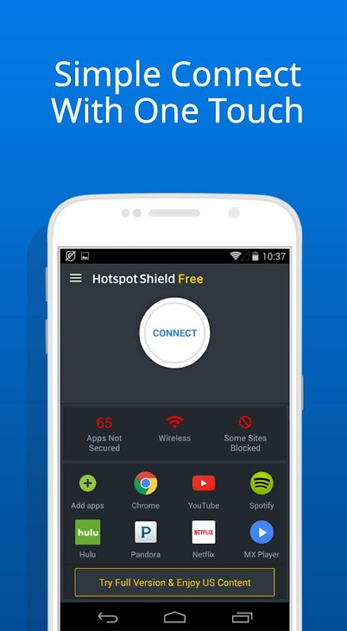 Free VPN -Hotspot Shield Basic- screenshot