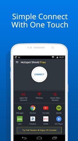 Free VPN -Hotspot Shield Basic 4.8.5 screenshot 630488