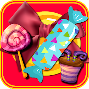 Idle game 2019 : Candy shop Clicker Merge