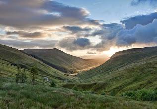 Photo: Glengesh Pass, connecting Glencolmcille and Ardara