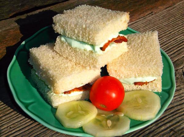 T's Benedictine Tea Sandwiches Recipe