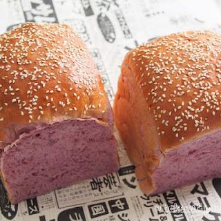 Japanese Purple Sweet Potato Loaf.