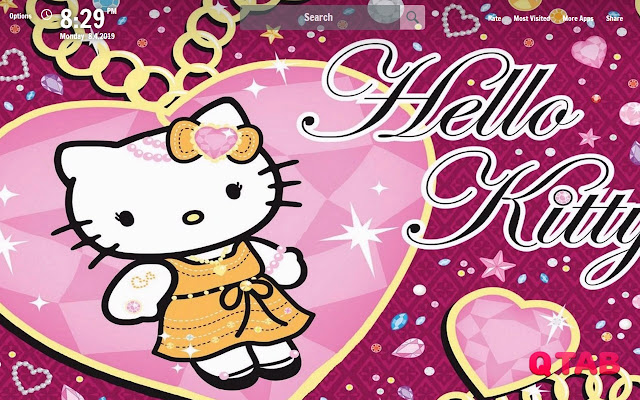 Hello Kitty New Tab Wallpapers